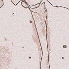Pencil Sketch of a Friend by Robert Semk