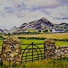 """""""Beneath Slieve Binnian, Mountains of Mourne, County Down."""" by Laura Butler"""