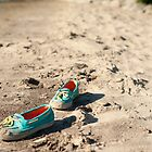 .....little one's beach shoes.......... by Jane Anastasia Studio