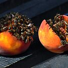 Bees and Peaches by metronomad
