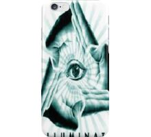 illuminati hands iPhone Case/Skin