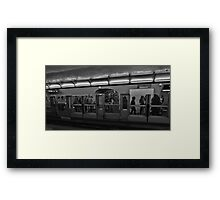 Window Frames Framed Print