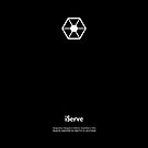 iServe (Apple Logo Replacement Series) by huckblade