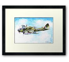 Beaufort Bomber Framed Print