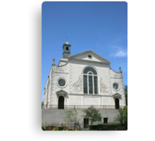 The Church of St. Mary the Virgin, Aldermanbury ll Canvas Print