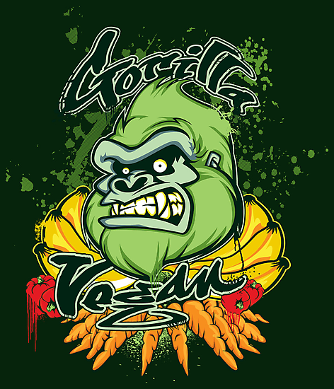 Gorilla Vegan by buzatron