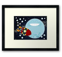 Le Voyage dans la Lune Framed Print