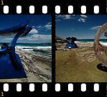 Sculptures By The Sea 2010- Blue/Brown by muz2142