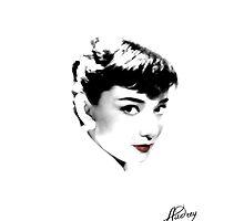 LovelyAudrey - Audrey Hepburn by pixelvision