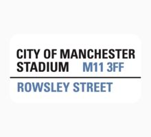 City of Manchester Stadium Sign by StreetsofLondon