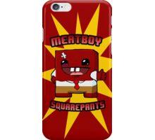 Meatboy Squarepants iPhone Case/Skin