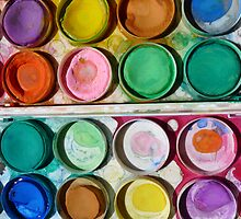 Child's Paint Box by kissofjoy