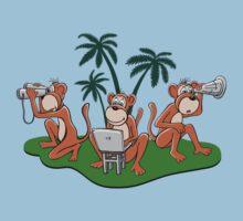 Three Monkeys by relplus