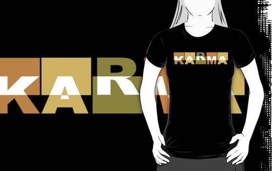 Karma T-Shirt by T-ShirtsGifts