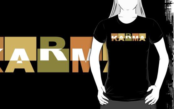 Karma T-Shirt by T-ShirtsGifts