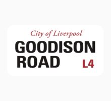Goodison Road Liverpool Sign	 by StreetsofLondon