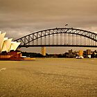 Sydney Harbor 1 by Adam Northam