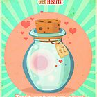 Free Hearts by gatonegro