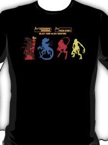 Select your Xenomorph T-Shirt