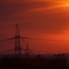 Pylon Sunset by youmeus