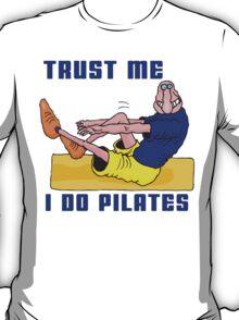 Funny Men's Pilates T-Shirt T-Shirt