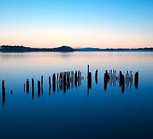 Still Waters Tasmania by Peter Hodgson