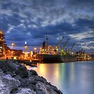 Port Steel Works by Ryan Conyers