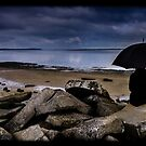 Umbrella and rubble by DalMasetto