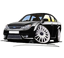 Ford Mondeo ST 220 Black Photographic Print