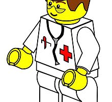 Male Doctor Minifig by Customize My Minifig by ChilleeW