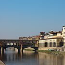 Ponte Vecchio in Florence by kirilart