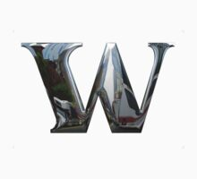 W in Metal Font		 by MetalFont