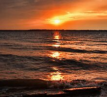 Friday The 13th Sunset by Carolyn  Fletcher