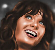 Zooey Deschanel by StevePaulMyers