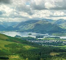 Derwentwater and Latrigg by VoluntaryRanger