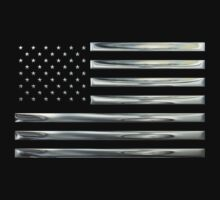 US Flag in Silver Chrome by Chromed