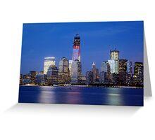 New York City 5 Greeting Card
