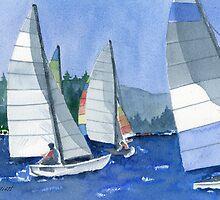 Afternoon Sail by Marsha Elliott
