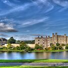 Leeds Castle bench view by Chris Thaxter
