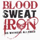Iron house Blood Sweat & Iron by ironhouse