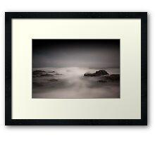 Stormy Sea - Guileen Co. Cork Ireland Framed Print