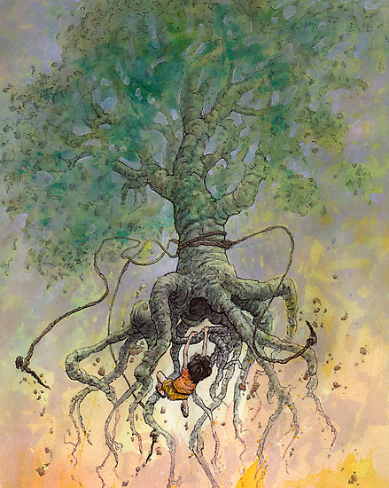 The Roaming Oak by Ethan  Harris