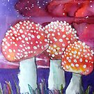 Magic Mushrooms by Alexandra Felgate