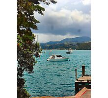 Yachts at Ti Point Photographic Print