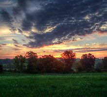 Sunrise In West Virginia by James Brotherton