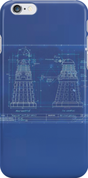 Dalek Blueprint by pstein94