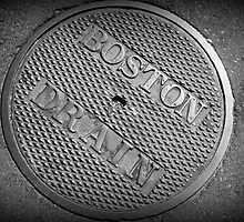 Boston Drain by Amanda Vontobel Photography