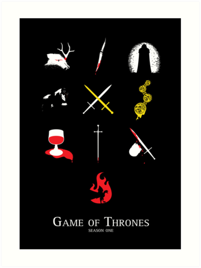 Game of Thrones Season One by JenSnow