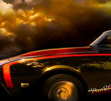69 Chevy Camaro Stormy Sunset by ChasSinklier