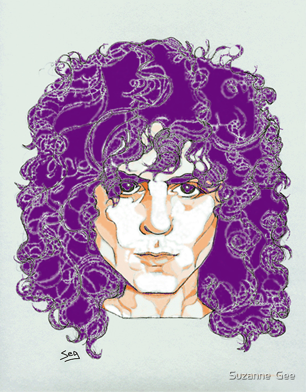 Marc Bolan by Suzanne  Gee